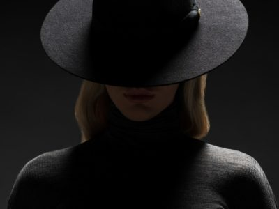 Elly black hat