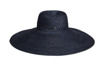 Shade navy hat
