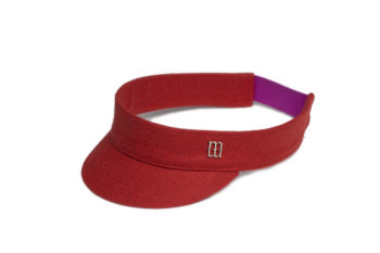 Harry red visor