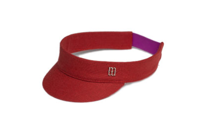Harry red visor
